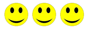 3 smilies